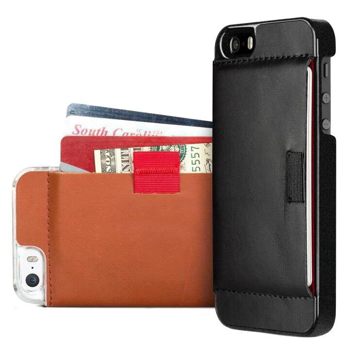 Genuine leather phone pouch for iphone 6s case with card holder bag,genuine leather case for iphone 7