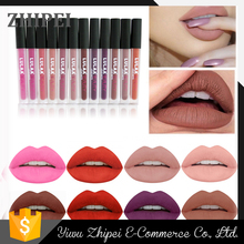LULAA latest matte nude color lip gloss, to create the charm of bare makeup lip