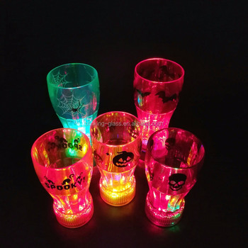 Halloween led flashing coke cup
