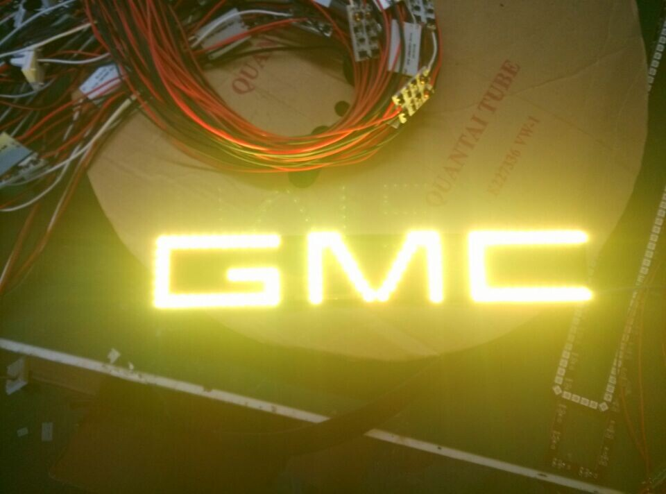 RGB Led Color Gmc Logos Changing lights angel eyes