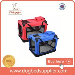 Portable Soft-sided Pet Travel Carrier House Kennel for Small Medium Puppy Dog Cat Tote Crates Shoulder Bag
