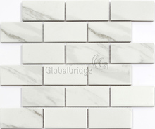 White glazed strip subway tile ceramic wall porcelain tiles home decor mosaics
