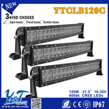 Auto lighting system, 10~30V DC 6000k IP67 flood and spot led off road light bar pick up