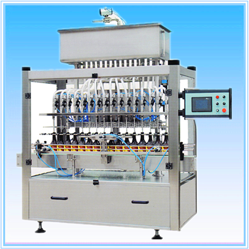 Fully Automatic Paste Filling Machine With Mixing Hopper
