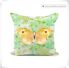 Best Selling Spring Style Butterfly Desings Latest Design Cushion Cover