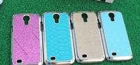 Leather Skin PC Cover for Samsung Galaxy S4 Mini i9190,with many skin style & color design