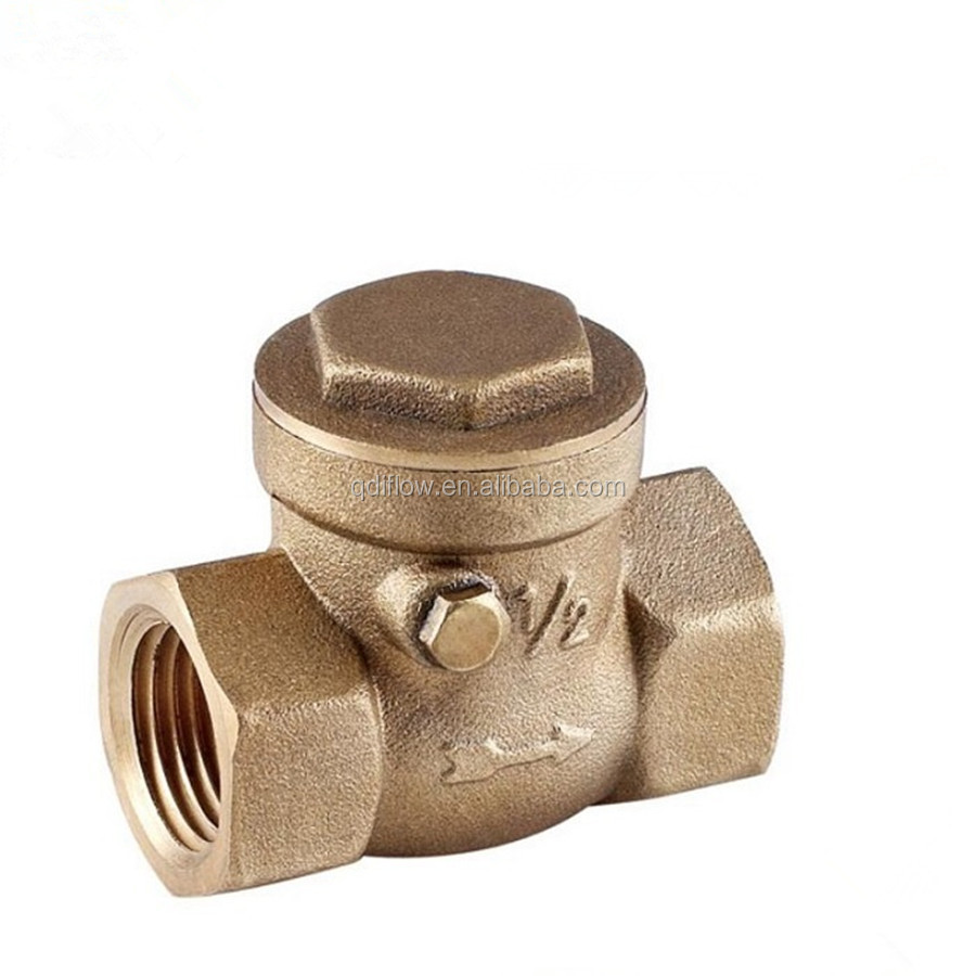 Brass Swing Check Valve 3 inch with NPT Threaded