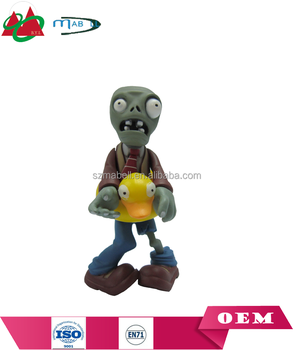 Plastic Plants VS Zombies Toys