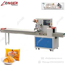 Factory Price Toothbrush Candle Snack Food Ice Cream Pillow Type Wrapping Machinery Peanuts Candy Wafer Biscuits Packing Machine