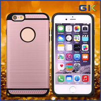 [GGIT] PC+TPU Hard Armor Mobile Phone Case, Bumper Case for iPhone 6 6G 6S