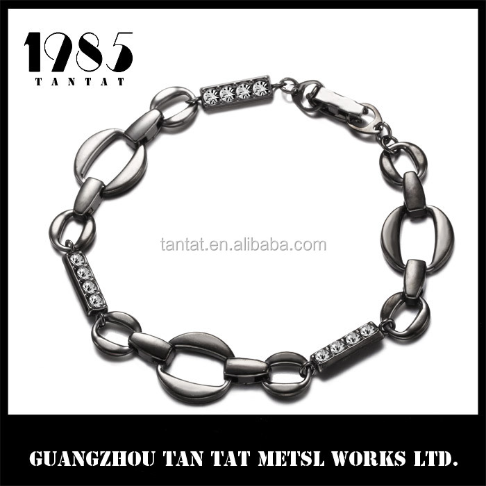 Guangzhou Tantat Wholesale Couple Bracelet Silver plated Saudi Jewelry