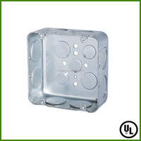 UL listed Square Electrical junction Box