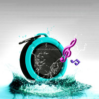 Wireless Waterproof Cheap Round Mini Speaker C6 with 5W Strong Driver Long Battery Life