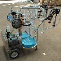 Mobile Dairy Cow Milking Machine For Men