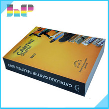 beautiful softcover catalog printing factory