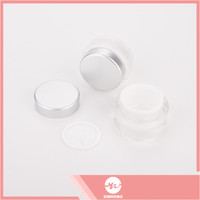Factory supply attractive price plastic jars and screw top lids