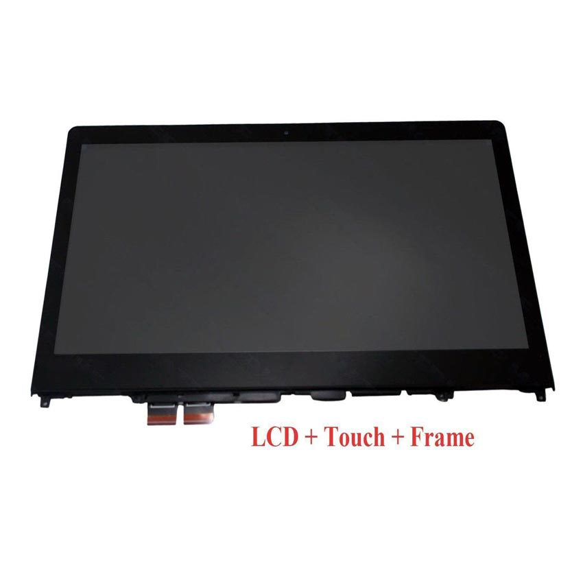 14'' LCD Touch Monitor Assembly For Lenovo Ideapad Flex 4 14 Laptop LCD Assembly Replacement with Frame