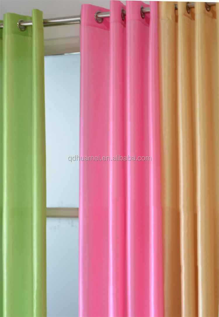 Wholesale Ready Made Finished Window Curtain Blackout Fabric For The Living Room Buy Window
