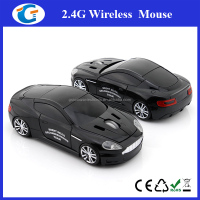wireless optical mouse car for 2016 promotional giveaways