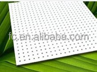 Perforated Acoustic Calciums Silicate Board