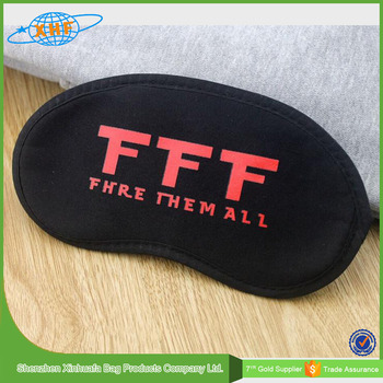 Alibaba China Promotion Cheap Polyester Eye Mask