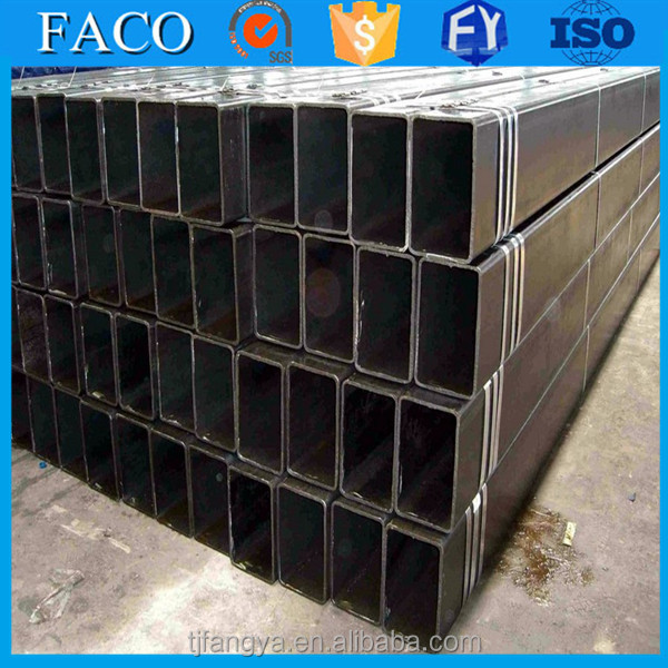 Tianjin square rectangular pipe ! steel pipe stkm 13a promotion carbon steel welded steel pipe