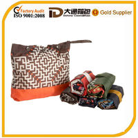 custom nylon/polyester shopping bag foldable