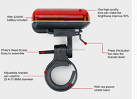 new arrived cheap price cycling flashlight best bicycle lights bicycle head light