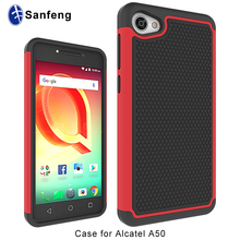Popular in USA Football Texture Mobile Phone Case for Alcatel A50 Soft Silicone Cover Case