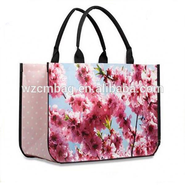 sisley eco-friendly shopping bag/pp nonwoven shopping tote bag/laminated shoe bag