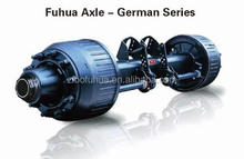 Germany type axle for semi trailer