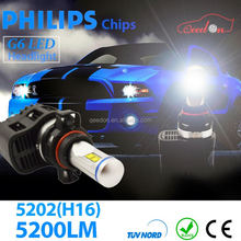 Qeedon new arrival lights led h4 cars auto parts spare part