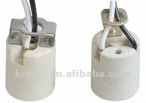 supply waterproof double porcelain / ceramic lamp socket E14