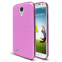 Ultra-slim clear crystal colour translucent semi-transparent soft TPU jelly gel flexible silicone for Samsung galaxy S5