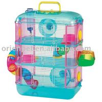 Pet Products Small Animal Cage Plastic Hamster Cage OPT29649 ORIENPET & OASISPET
