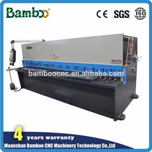 CE certification shearing machine blade at competitive price QC12Y-10x2500 with NC Controller