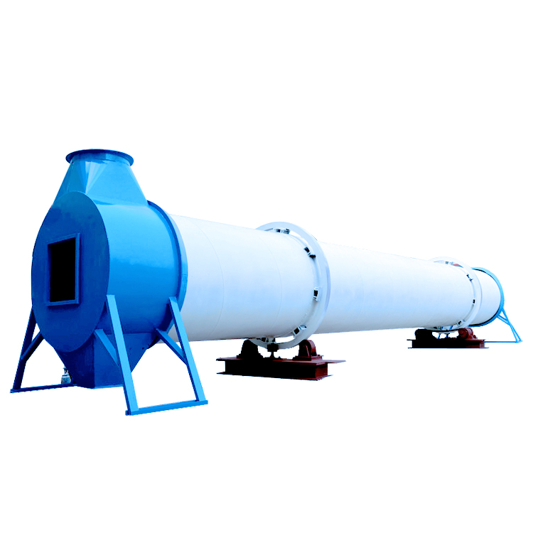Wheat rice bran wood sawdust rotary dryer with ISO