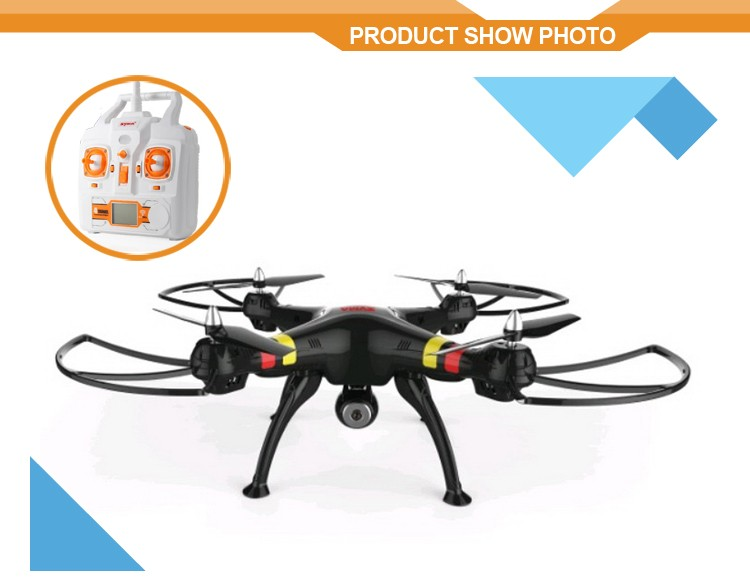 Drone Syma X8w 2.4G 4CH Rc Quadricopter with Camera WIFI FPV Wide Angle Camera RTF RC Helicopter