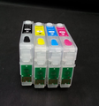 T1631-T1634 Empty Refillable Cartridge With Chip For Epson WF-2010W WF-2510WF WF-2520NF WF-2530WF WF-2540WF Printer