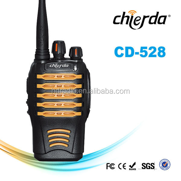 Water-resistant Hand-held Communication Receiver and transmitter 2way radios