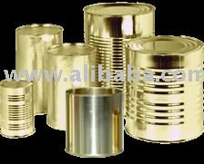 Metal packaging cans