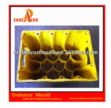 Design and Processiong Commodity Beer plastic crate mould