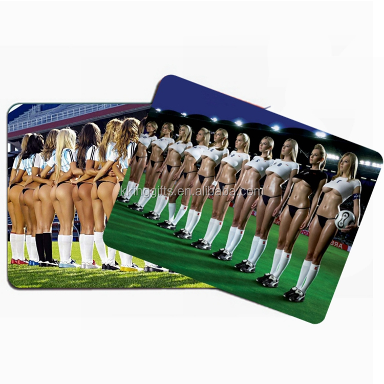Make my product in china full sexy photos girls mouse pad/custom mouse pad