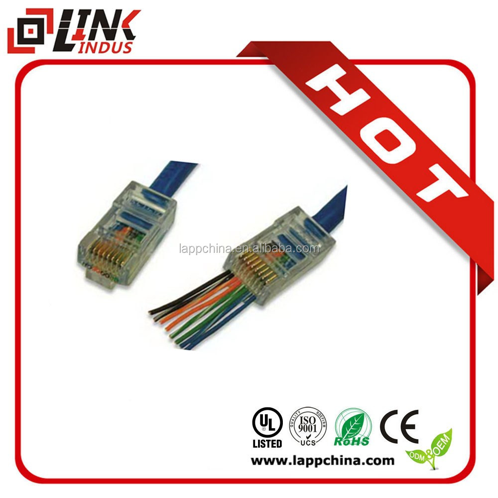 RJ11 RJ45 cable assembly cable accessories and component