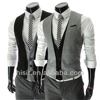 The 2014 gentlemen must leave two men's slim vest Y411-BM06