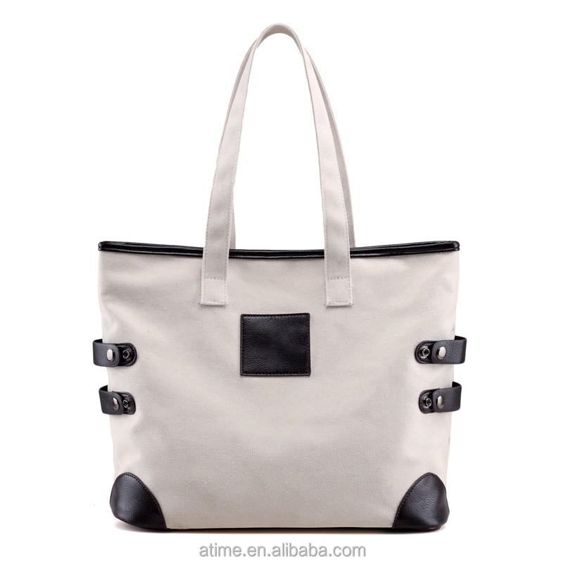 Female shoulder bag canvas bags bulk beach bags and <strong>totes</strong>