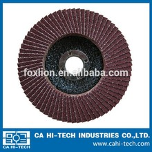 aluminum oxide easy to change & sharp grinding flap disc for metal