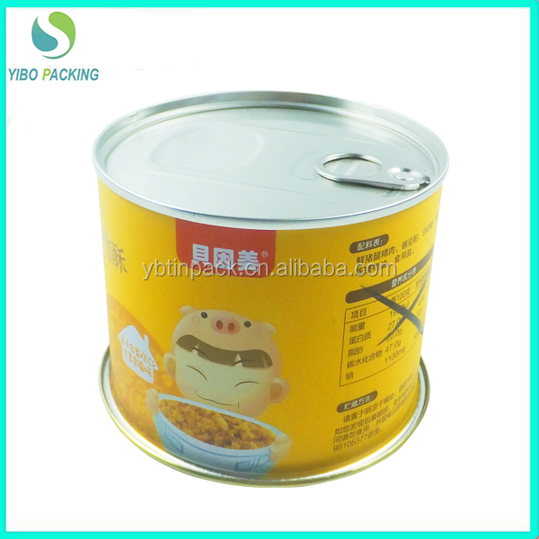 OEM service empty tin cans sale chinese tin can manufacturer custom food tin cans