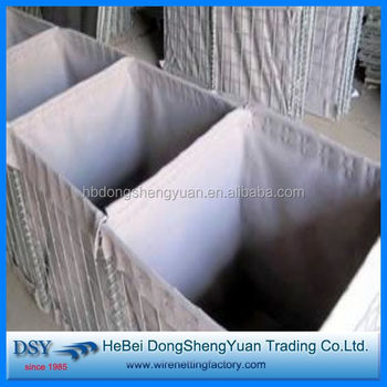 Military & Flood Control Galvanized Hesco Barrier Factory