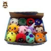 Good price slow rising squeeze stress relief cute squishy plush toy